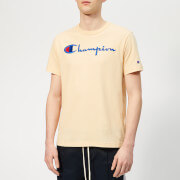 Champion Men's Script T-Shirt - Beige