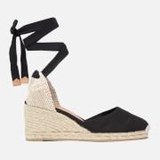 Castañer Women's Carina Espadrille Wedged Sandals - Negro