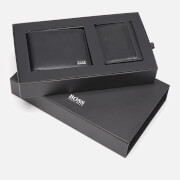 BOSS Men's Wallet and Card Case Gift Set - Black