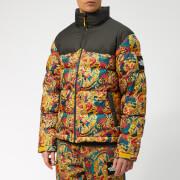 The North Face Men's 1992 Nuptse Jacket - Leopard Yellow Genesis Print