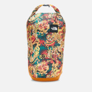 The North Face Flyweight Roll Top Backpack - Leopard Yellow Genesis Print