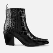 Ganni Women's Western Boots - Black