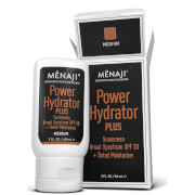 Menaji Power Hydrator PLUS Broad Spectrum Sunscreen SPF30 + Tinted Moisturiser 60ml