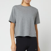 Calvin Klein Performance Women's Logo Short Sleeve T-Shirt - Medium Grey Heather