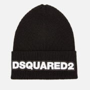 Dsquared2 Men's Dsquared Knit Hat - Black/White
