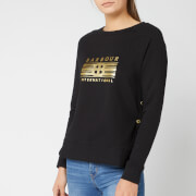 Barbour International Women's Cortina Sweatshirt - Black