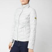 Barbour International Women's Aubern Quilt Jacket - Ice White