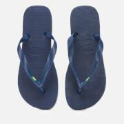 Havaianas Men's Brasil Flip Flops - Navy Blue
