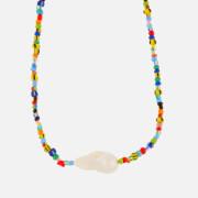 Anni Lu Women's Alaia Baroque Pearl Necklace - Multi