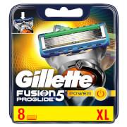 Gillette Fusion5 ProGlide Power Rasierklingen (8Stück)