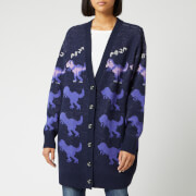 Coach 1941 Women's Rexy Roar Cardigan Coat - Purple/Multi