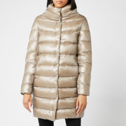 Herno Women's Dora Iconic Long Down Jacket - Tortota