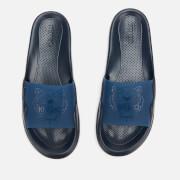 KENZO Men's Tiger Head Pool Slide Sandals - Navy Blue