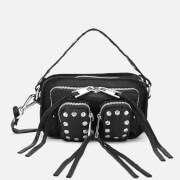 Núnoo Women's Helena Sport/Leather Cross Body Bag - Black