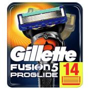 Gillette Fusion5 ProGlide Rasierklingen (14Stück)