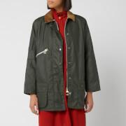 Barbour Women's Alexa Chung Edith Wax Jacket - Duffle Bag/Northumberland