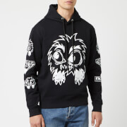 McQ Alexander McQueen Men's Monster Rally Big Hoodie - Darkest Black