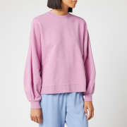 Ganni Women's Isoli Sweatshirt - Moonlight Mauve