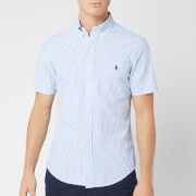 Polo Ralph Lauren Men's Seersucker Stripe Shirt - Blue/White