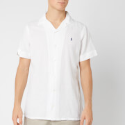 Polo Ralph Lauren Men's Camp Collar Shirt - White