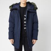 KENZO Men's Winter Parka - Navy Blue