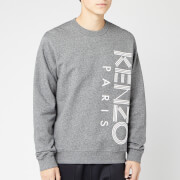 KENZO Men's Vertical Logo Sport Sweatshirt - Anthracite