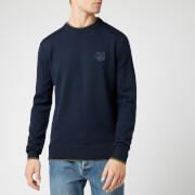 KENZO Men's Tiger Crest Knit Jumper - Navy Blue