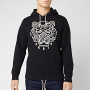 KENZO Men's Blanket Stitch Tiger Hoodie - Black