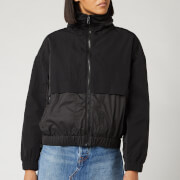 KENZO Women's Nylon Technical Outerwear Mix Jacket - Black
