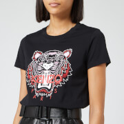 KENZO Women's Classic Tiger Light Cotton Single Jersey T-Shirt - Black