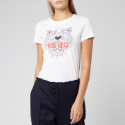 KENZO Women's Classic Tiger Light Cotton Single Jersey T-Shirt - White
