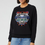 KENZO Women's Gradient Tiger Sweatshirt - Black
