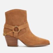 MICHAEL MICHAEL KORS Women's Goldie Suede Western Boots - Acorn