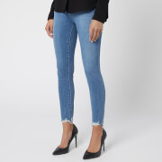 J Brand Women's Alana High Rise Crop Skinny Jeans - True Love Destruct