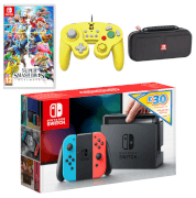 Nintendo Switch Smash Bros. Ultimate Bundle + £30 eShop Credit