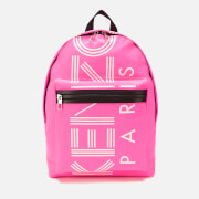 KENZO Women's Nylon Paris Backpack - Pink