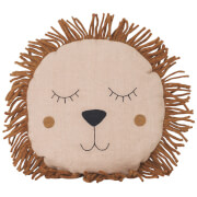 Ferm Living Safari Lion Cushion - Natural