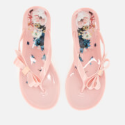 Ted Baker Women's Suzzip Bow Flip Flops - Light Pink
