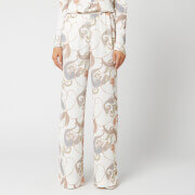 See By Chloé Women's Paisley Print Detail Trousers - Multi