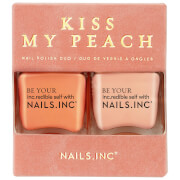 nails inc. Kiss my Peach Nail Varnish Duo 2 x 14ml