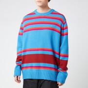 Acne Studios Men's Nimah Stripe Face Knit - Blue Multi