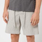 Orlebar Brown Men's Harton Stripe Shorts - Pewter/Shell
