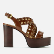 See By Chloé Women's Leather Platform Sandals - Libano