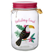 Sass & Belle Toucan Holiday Fund Money Jar