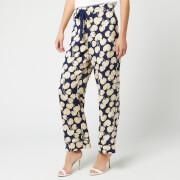 Diane von Furstenberg Women's Braelyn Trousers - New Navy