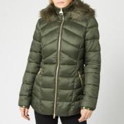 Barbour International Women's Hampton Quilt Coat - Moto Green