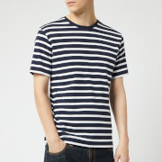 Armor Lux Men's Marinière T-Shirt - Navire/Blanc