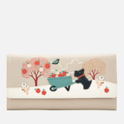 Radley Women's To the Core Large Flapover Matinee Wallet - Dove Grey