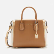 MICHAEL MICHAEL KORS Women's Mercer Belted Small Satchel Bag - Btrn/Ltc/Acr