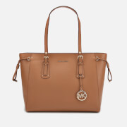 MICHAEL MICHAEL KORS Women's Voyager Medium Top Zip Tote Bag - Acorn